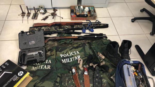 12 pessoas foram presas em uma operação da Polícia Civil. Crédito: Polícia Civil