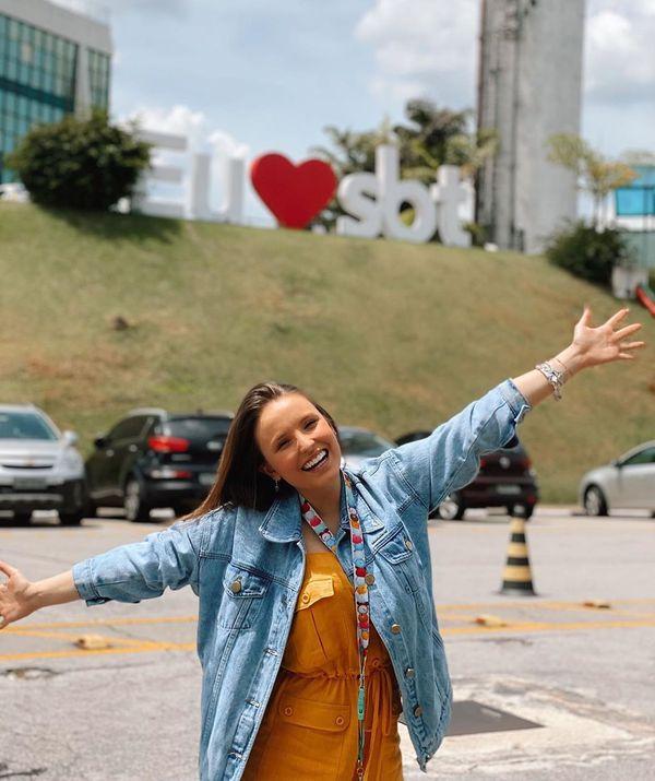 17/12/2019 - A atriz Larissa Manoela deixa o SBT após 10 anos de contrato. Crédito: Instagram/@larissamanoela