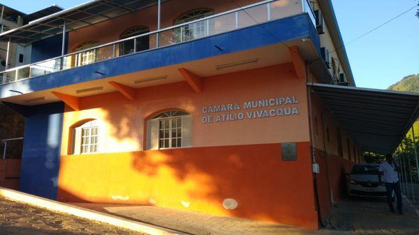 Câmara de Vereadores de Atílio Vivácqua. Crédito: Internauta