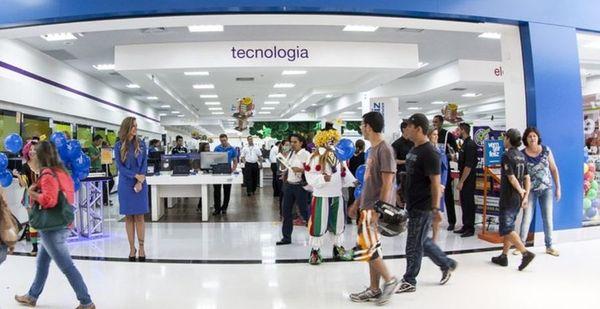 Loja do Magazine Luiza: rede deve vir para o Estado e operar quiosques em parceria com outras marcas. Crédito: Magazine Luiza/Divulgação