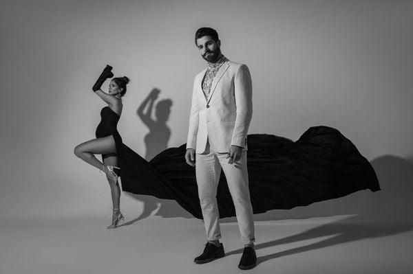 Romana Novais e DJ Alok em suas redes sociais. Crédito: Reprodução/Instagram/Romana Novais