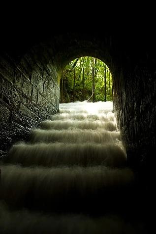 Túnel de Matilde, em Alfredo Chaves. Crédito: Divulgação/Prefeitura de Alfredo Chaves
