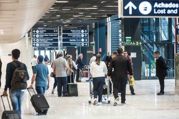 O setor aéreotem sido afetado diante das recomendações para que a população evite aglomerações. Crédito: Ascom | Felipe Carneiro