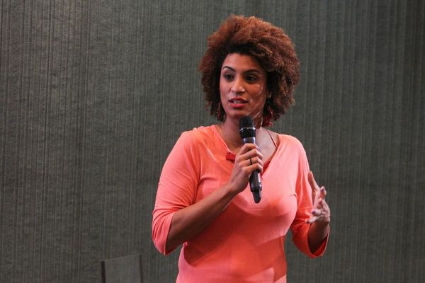 Marielle Franco, ex-vereadora assassinada . Crédito: Arquivo   Guilherme Cunha   Alerj