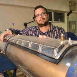 Data: 08/12/2019 - ES - Serra - Lucas Silveira, coordenador do curso de Engenharia Química da UCL