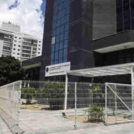 Data: 27/12/2019 - ES - Vitória - Fachada da sede do Ministério Público do Estado do Espírito Santo