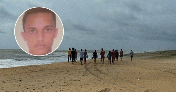 Yago Sousa Costa, de 19 anos,desapareceu no mar de Pontal do Ipiranga.
