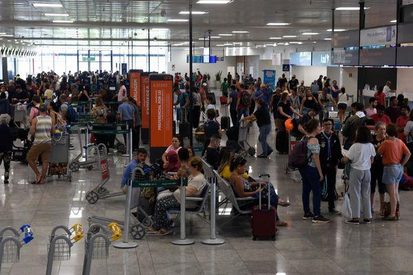 Aeroporto de Vitória: expectativa é de receber 60 mil passageiros no feriado. Crédito: Carlos Alberto Silva