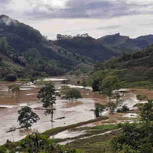 Chuva em São José de Fruteiras, Vargem Alta