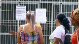 Posto de saúde de Cidade Continental, na Serra, ficou fechado após furto. Crédito: Reprodução/TV Gazeta