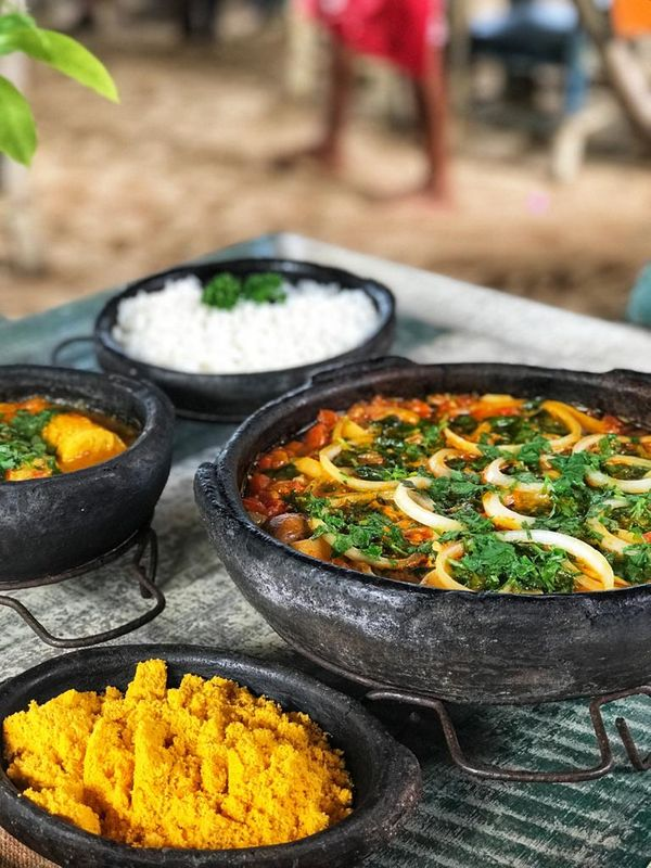 Vegan Mokweka από το εστιατόριο Maria Mariana στο Mangoonhos