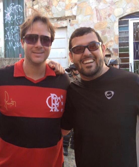 Edilson e Luiz Felippe. Crédito: Arquivo pessoal