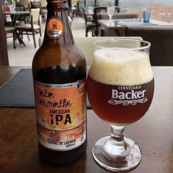 Cerveja Backer Pele Vermelha. Crédito: Reprodução | Internet