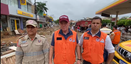 Após destruição no Sul do ES, governador Casagrande vai a Iconha. Crédito: Divulgação/ Governo do Estado