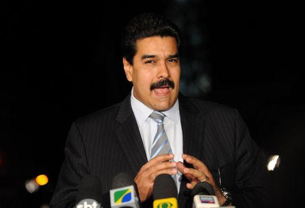 Nicolás Maduro é o atual presidente