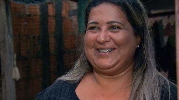 Cida dos Santos foi a vencedora do BBB4 e perdeu todo o prêmio. Crédito: Reprodução/Record TV