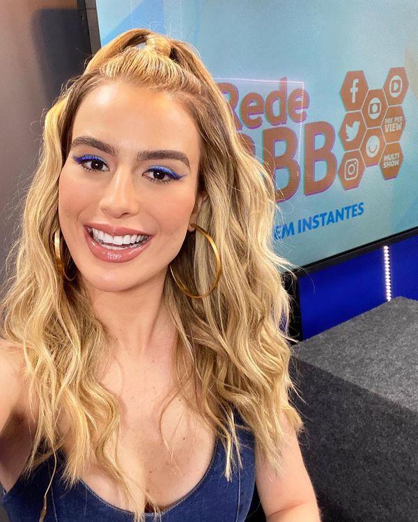 Fernanda Keulla venceu o BBB13 e hoje apresenta a Rede BBB, na internet. Crédito: Instagram/@fernandakeulla