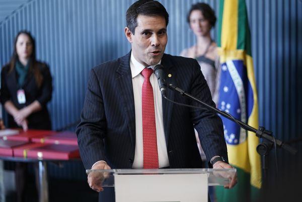 Deputado federal Amaro Neto na Câmara dos Deputados. Crédito: Pablo Valadares/Câmara dos Deputados