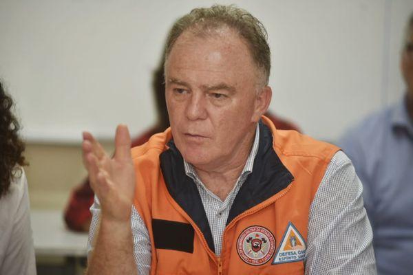 Governador Renato Casagrande calcula que mais de 100 pontes terão que ser reconstruídas. Crédito: Fernando Madeira