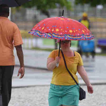 O alerta é válido para toda a quarta-feira (01) e abrange também municípios de Minas Gerais e do Rio de Janeiro