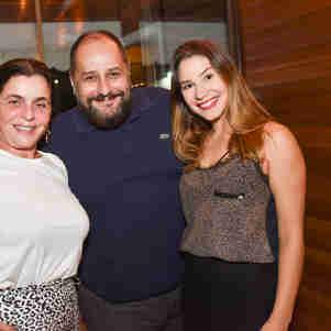 Marcia Abreu, Sérgio Palmeira e Renata Tristão