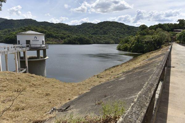 Barragem de Duas Bocas. Crédito: Fernando Madeira
