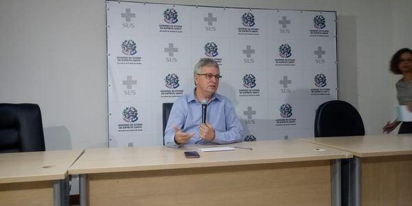 Luiz Carlos Reblin, coordenador do Centro de Operações Estratégicas da Sesa. Crédito: Larissa Avilez