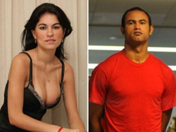 Bruno foi condenado a quase 21 anos de prisão pela morte de Eliza SAmúdio. Crédito: Reprodução / Arquivo Pessoal / TV Globo