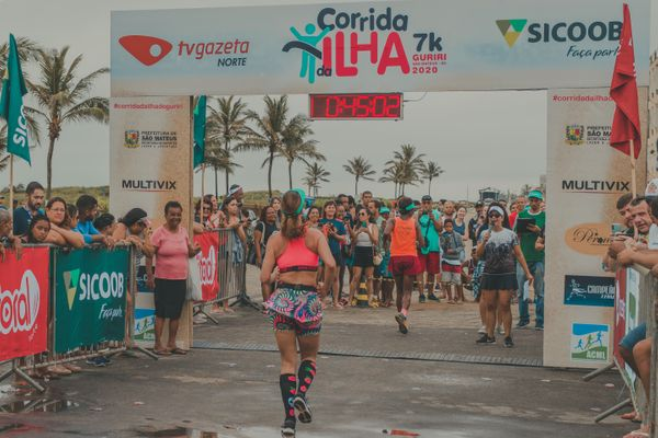 Corrida, com concentração na Avenida Oceânico Atlântico, teve 573 inscritos de todas as idades. Crédito: Junior Rossow/ Divulgação