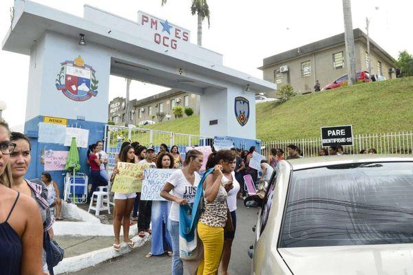 Greve da PM: anistia abriu brecha para que policiais colocassem governadores de todo o país contra a parede, dizem analistas. Crédito: Arquivo/AG