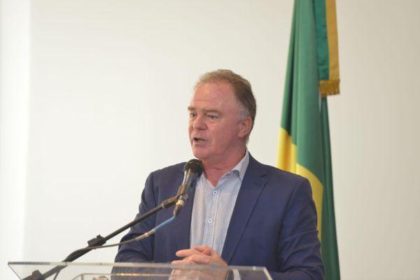 Governador Renato Casagrande editou novo decreto para manter cortes de custeio em secretarias em 2020. Crédito: Hélio Filho/Secom
