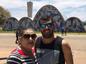 Laura Telles e o filho Luiz Felippe em Belo Horizonte. O capixaba está internado desde o fim de dezembro na capital mineira. Crédito: Reprodução/Facebook