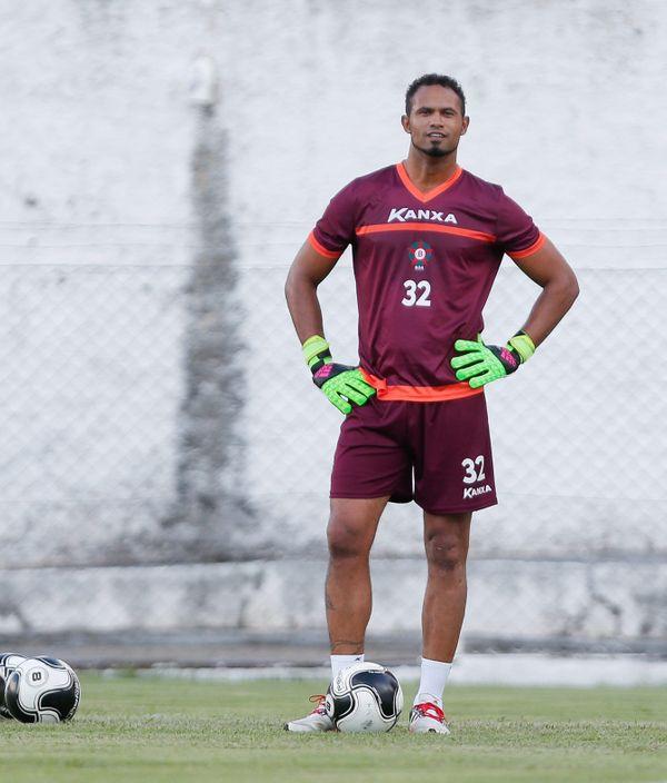 Bruno treinou e atuou pelo Boa Esporte em 2017e negocia com o São Mateus. Crédito: Divulgação/Boa Esporte