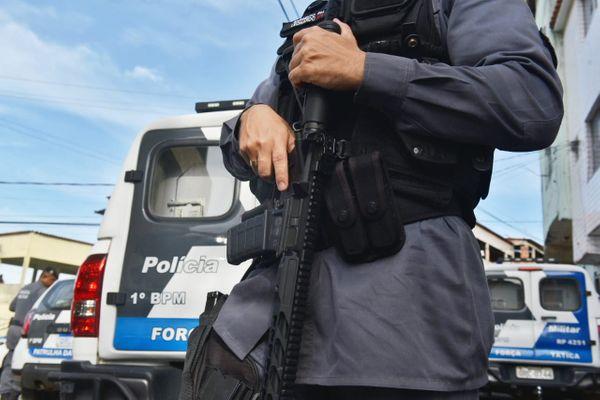Conversas entre governo e policiais para reajuste salarial seguem.. Crédito: Fernando Madeira