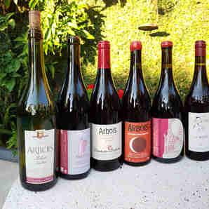Vinhos Plousards da região de Jura, na França