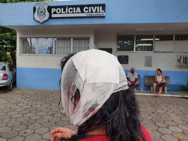 Balconista de 32 anos reage a assalto no bairro Rio Marinho, em Cariacica. Crédito: Isaac Ribeiro