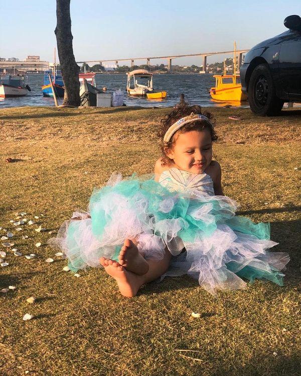 Alice da Silva Almeida, de 3 anos, foi morta no dia 09 de fevereiro. Crédito: Arquivo pessoal