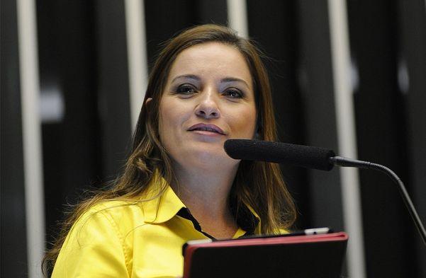 A deputada Lauriete. Crédito: Câmara dos deputados/Luis Macedo
