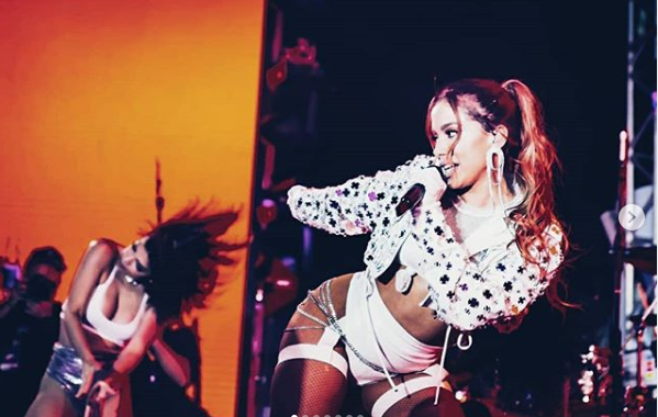 Anitta fará show no Cafe de La Musique, em Guarapari, na segunda-feira (24). Crédito: Reprodução/ Instagram Antita