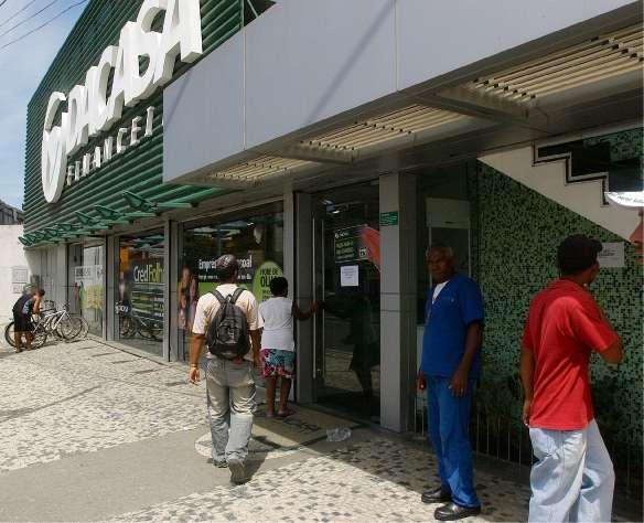 Dacasa Financeira, no Centro de Vitória. Crédito: Marcos Fernandez