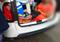 Sogra estava no porta-malas do veículo, junto com pertences de praia. Crédito: Divulgação   PMR-SC