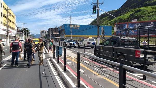 Criminosos atacam as principais avenidas de Vitória 21