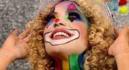 Make de carnaval feita por Jess Vieira para stúdio Marcella Moraes. Crédito: Divulgação