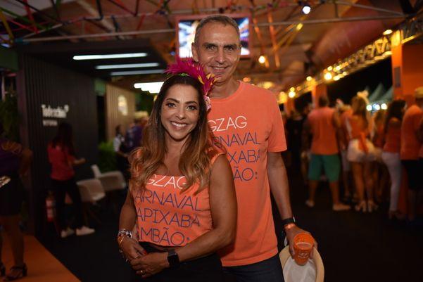 Márcia e Junior Carone. Crédito: Monica Zorzanelli