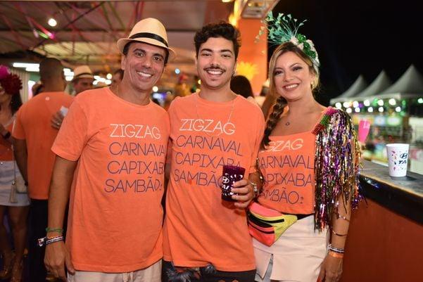 Léo de Castro, Bernardo e Patricia Castro. Crédito: Monica Zorzanelli