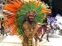 Carnaval de Vitória 2020: Fábio Alves, Mister Bumbum e muso da Porto da Pedra, no Carnaval do Rio de Janeiro, exibe bumbum de 116 centímetros como destaque de chão da MUG. Crédito: Pedro Permuy