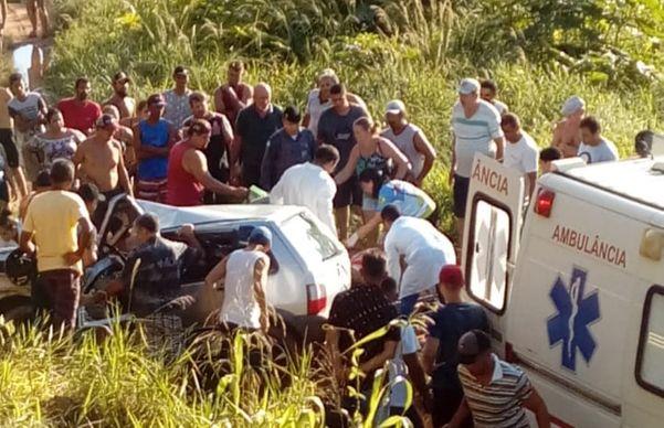Motorista morre em acidente após ser atacado por abelhas em São Gabriel da Palha. Crédito: Reprodução
