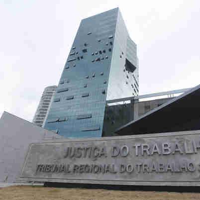 Data: 17/02/2020 - ES - Vitória - Sede do Tribunal Regional do Trabalho (TRT) - Editoria: Politica - Foto: Ricardo Medeiros - GZ