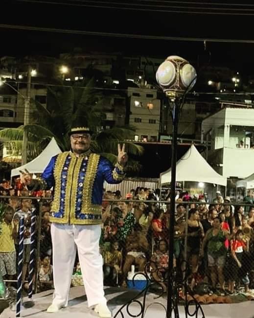 Arion Oliveira acredita que a Boa Vista fez o grande desfile do Grupo Especial. Crédito: Instagram/ Divulgação