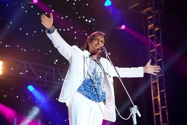 O cantor Roberto Carlos